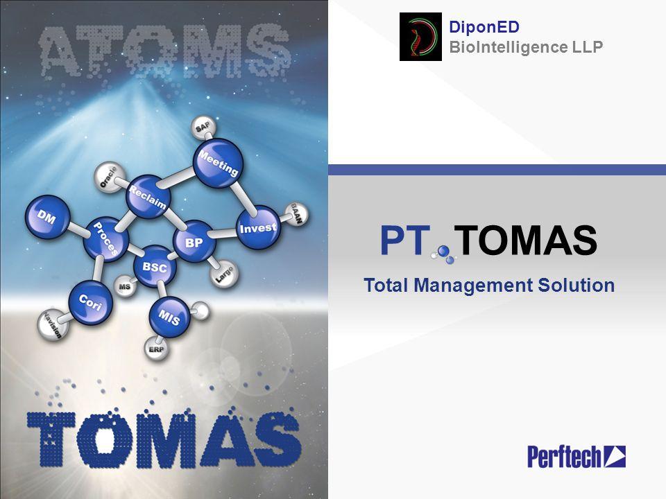 PT TOMAS Total Management Solution DiponED BioIntelligence LLP