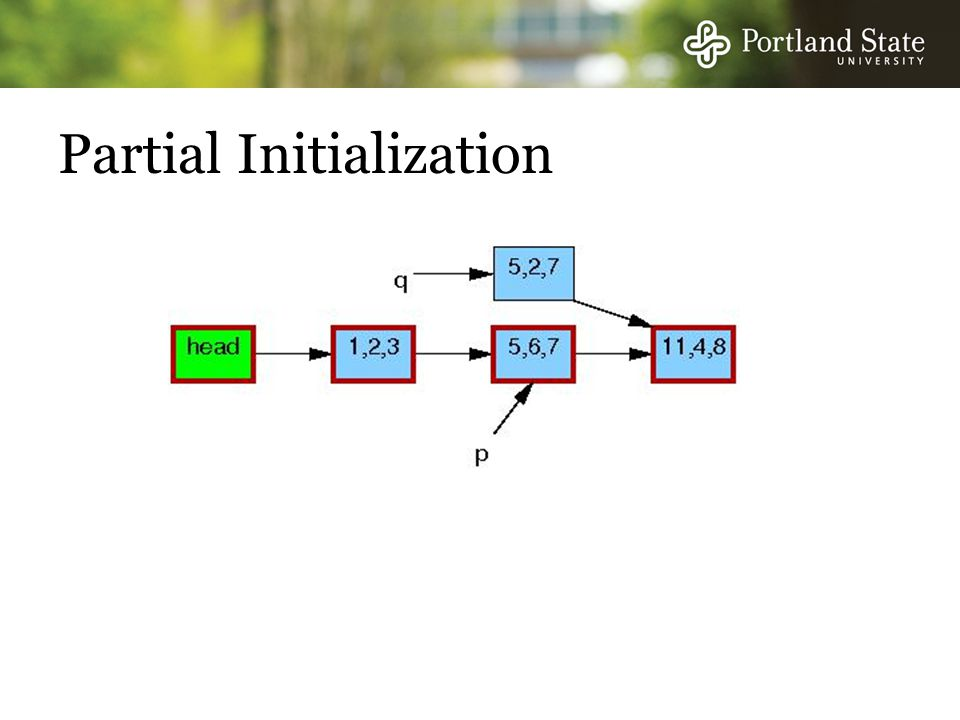 Partial Initialization