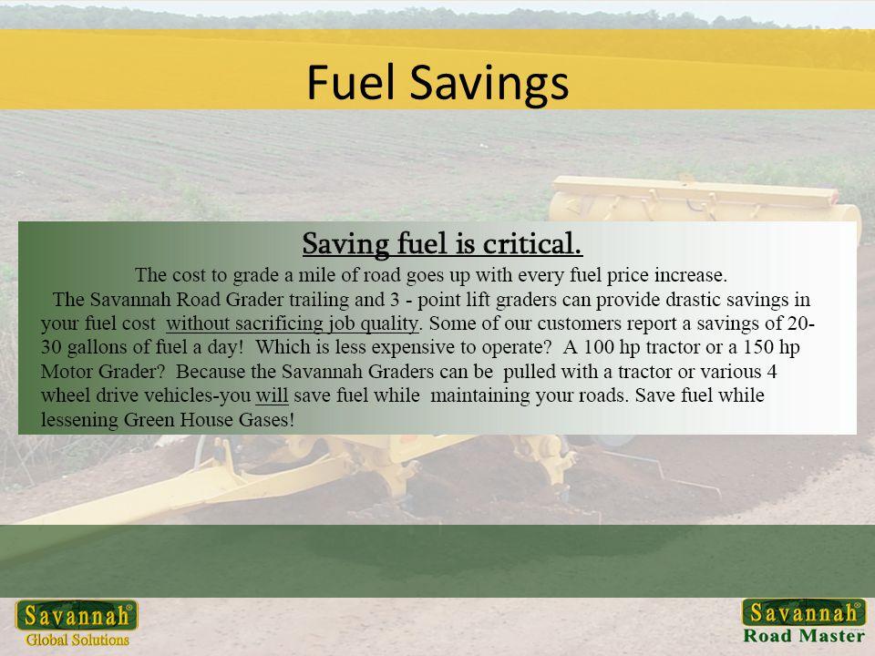 Fuel Savings