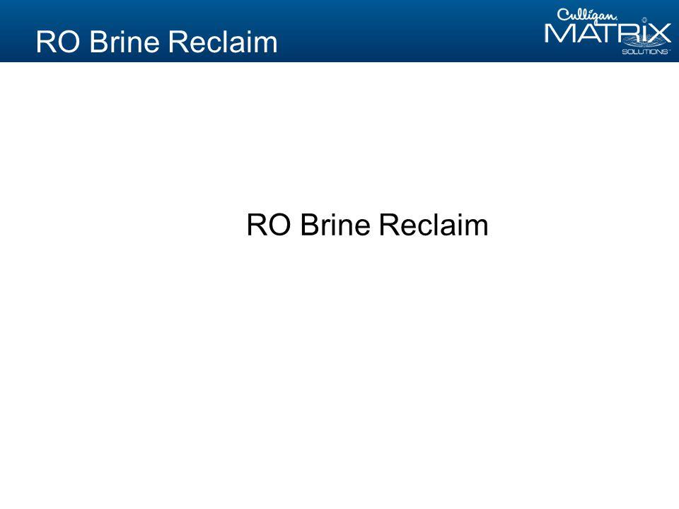 RO Brine Reclaim