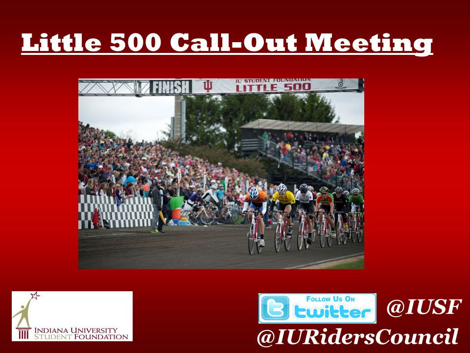Little 500 Call-Out Meeting @IUSF @IURidersCouncil