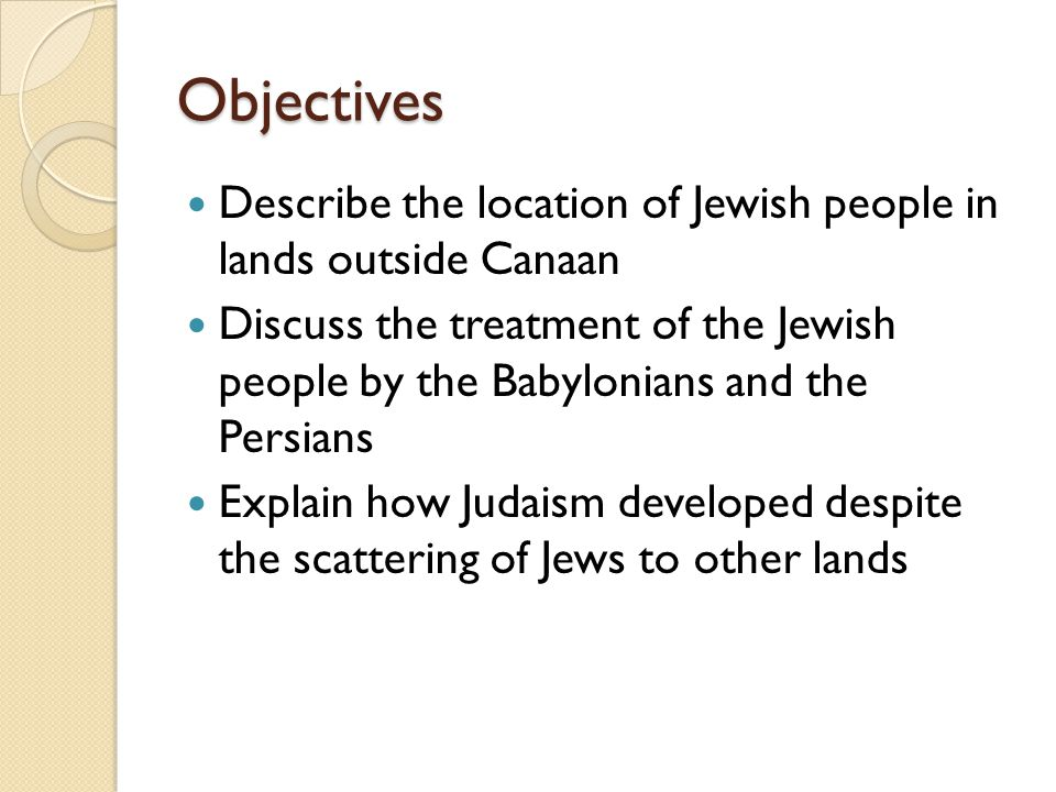 Lesson 1 Review Why did the Babylonians destroy Jerusalem and the Temple.