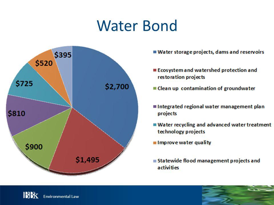 Environmental Law Water Bond