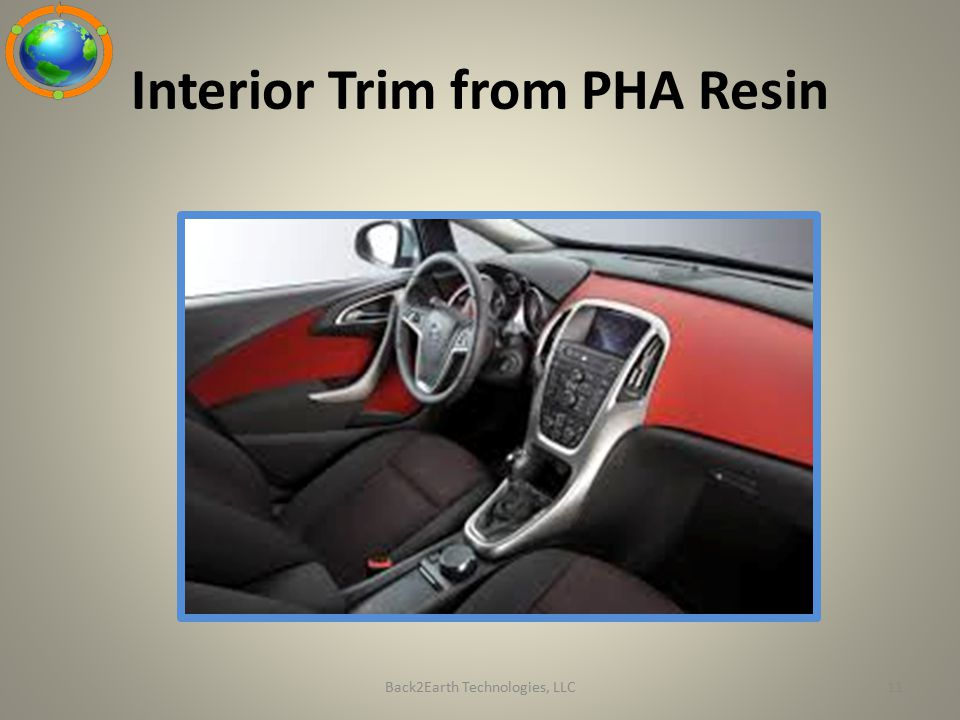 Interior Trim from PHA Resin Back2Earth Technologies, LLC11