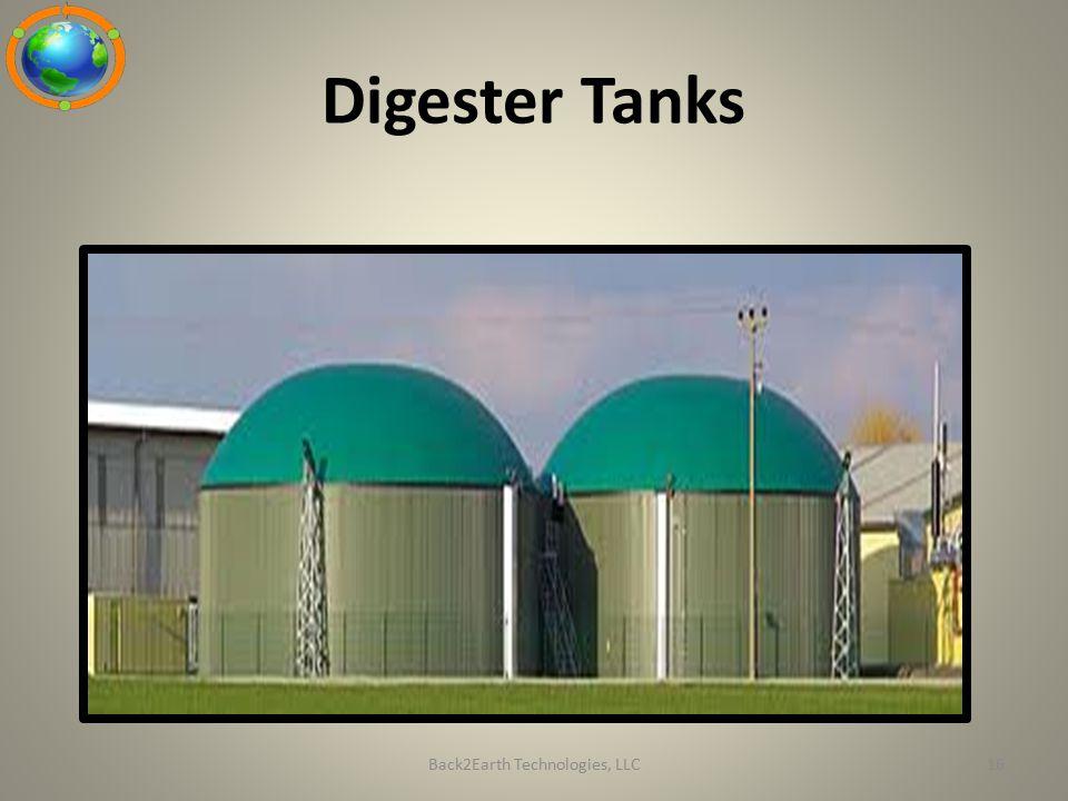 Digester Tanks Back2Earth Technologies, LLC16