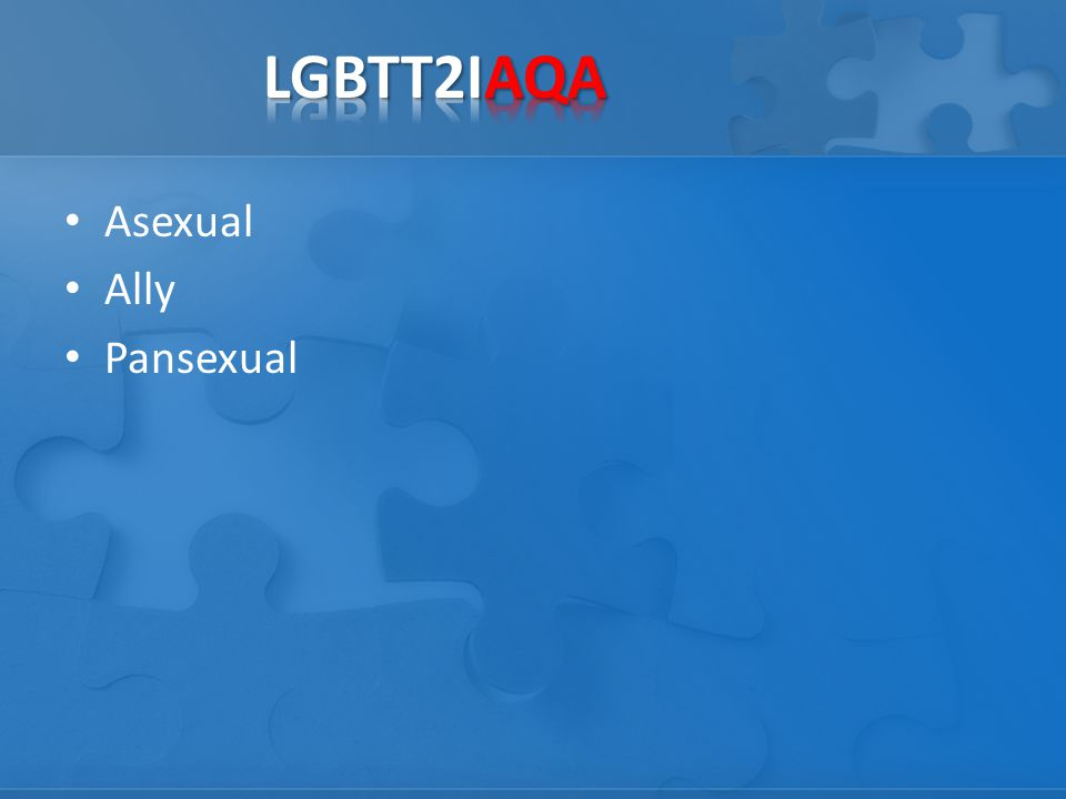 Asexual Ally Pansexual