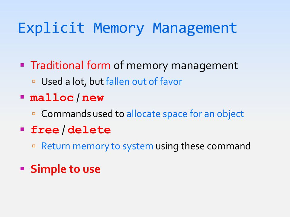  Static & locals are called root references  Must compute objects in their transitive closure Garbage Collection HEAP