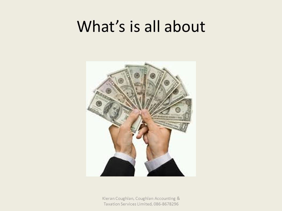 What's is all about Kieran Coughlan, Coughlan Accounting & Taxation Services Limited, 086-8678296