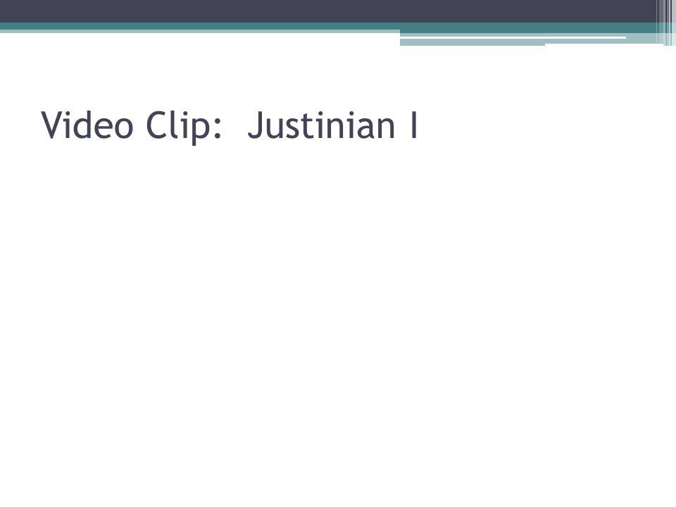 Video Clip: Justinian I