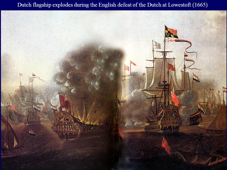 Dutch victory over the British in the Four Days Battle (1664)