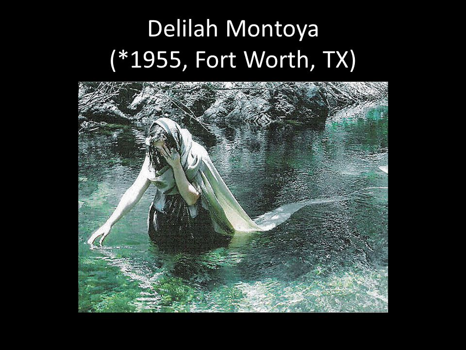 Delilah Montoya (*1955, Fort Worth, TX)