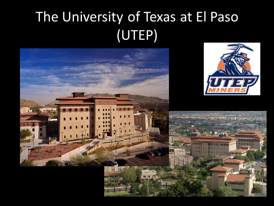 The University of Texas at El Paso (UTEP)
