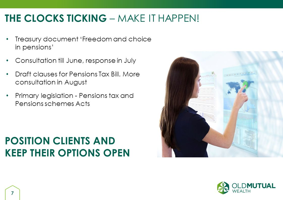 18 OPPORTUNITY THRESHOLDS – TAX BREAKS IN AND TAX CHARGES OUT * withdrawals normally restricted to beyond age 55.