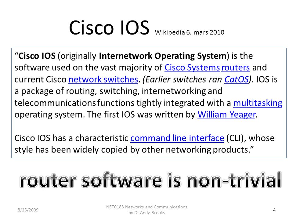 Cisco IOS Wikipedia 6.