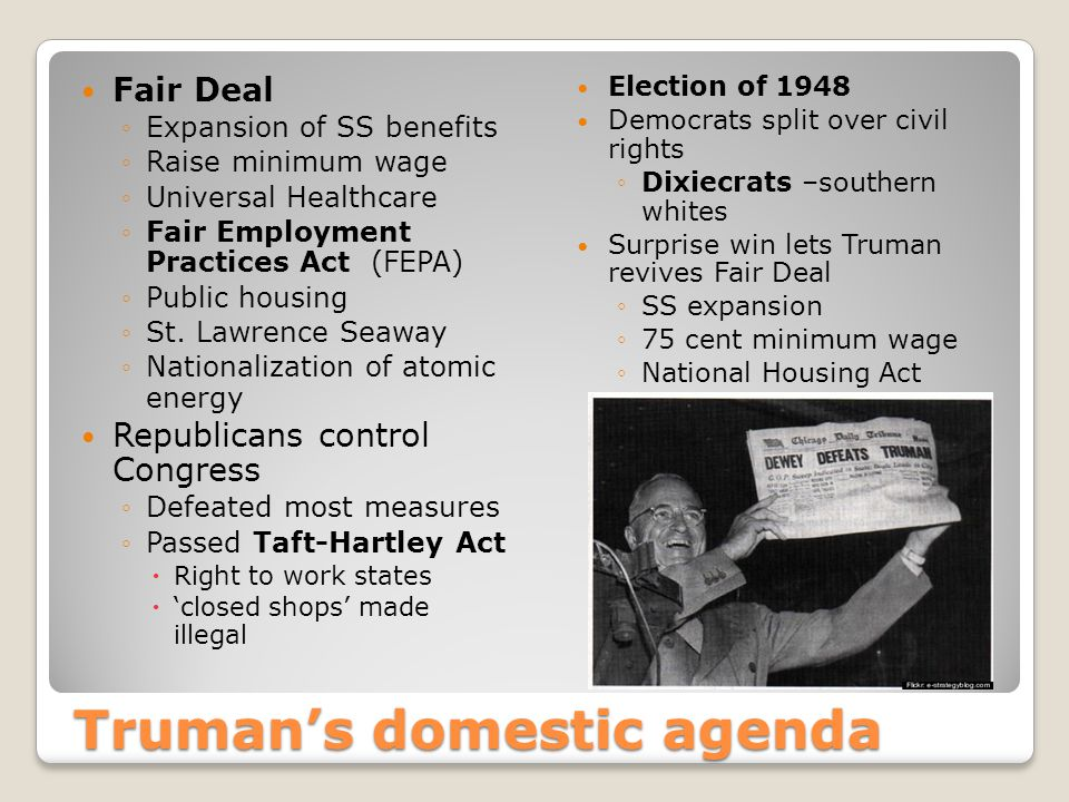 Eisenhower & the Cold War Federal Highway & Defense Act, 1956 ◦40,000 miles of interstate Secretary of State John Foster Dulles & Eisenhower direct foreign policy ◦'massive retaliation' policy, 1954  Nuclear weapons more bang for the buck ◦Vietnam ◦French tried reclaim control of colony after WWII against communist insurgency led by Ho Chi Min, 1954 ◦Eisenhower would not support French army at Dien Bien Phu, 1954 ◦Suez Crisis, 1956  US backed out of plan to co-build w/Egypt Aswan Dam across the Nile  President Nasser seized Suez Canal from the British  Israeli, British & French forces attacked  US & other UN members pressured a truce w/Egypt ◦Hungarian Revolution, 1956 –USSR put down democratic demonstrators ◦U2 Crisis, 1959 –US spy plane is shot down over Soviet airspace  Pilot Francis Gary Powers held hostage ◦At end of 2 nd term warned about too much influence in American foreign policy of a vast 'military-industrial complex'