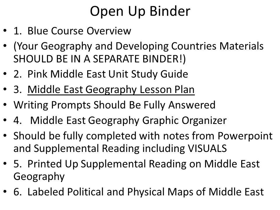 Open Up Binder 1.