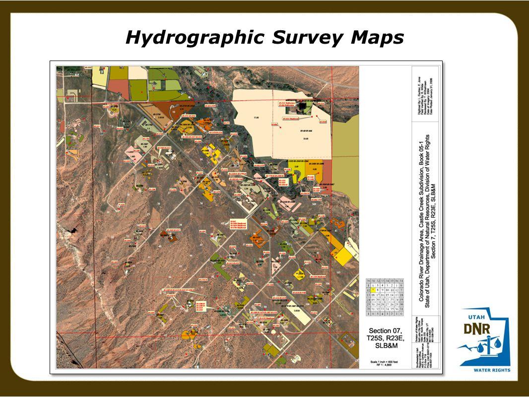Hydrographic Survey Maps