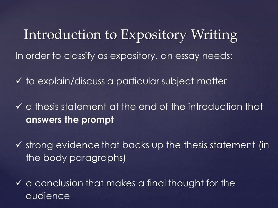 write essay introduction