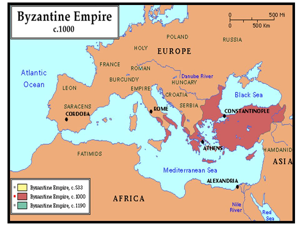 The Byzantine Empire The New Rome Objectives Describe The