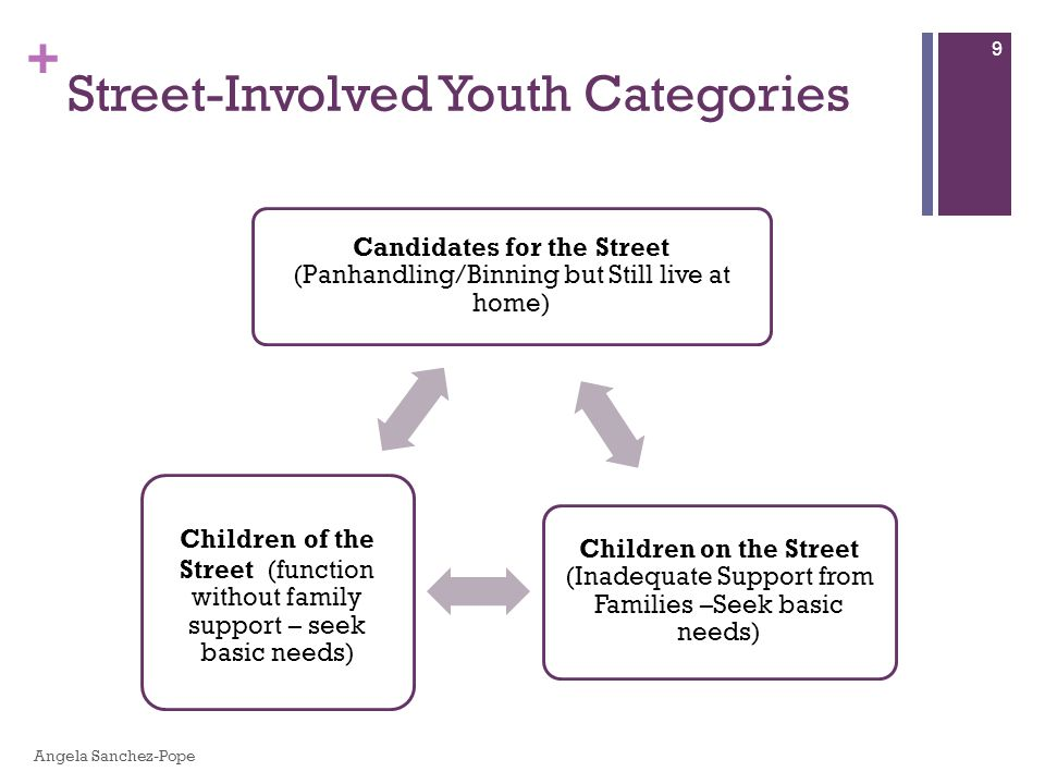 + Street-involved youth input PCHR gains Sense of ownership Journals Main approach Fundamental characteristic 60 Other Observations Oliva Lopez