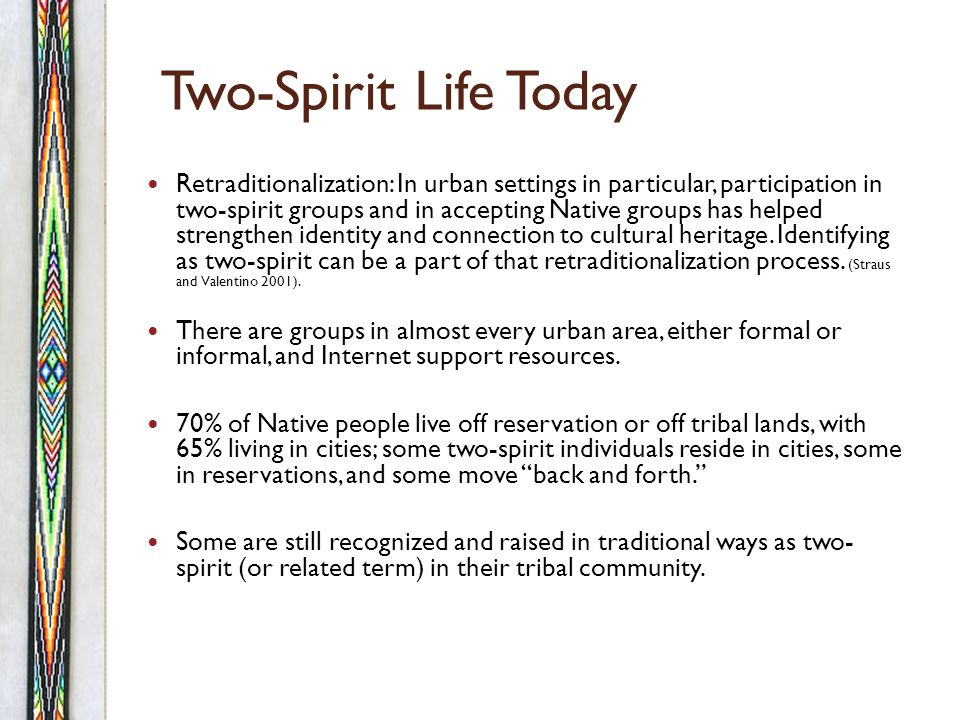 Who Are Two-Spirit People Today.