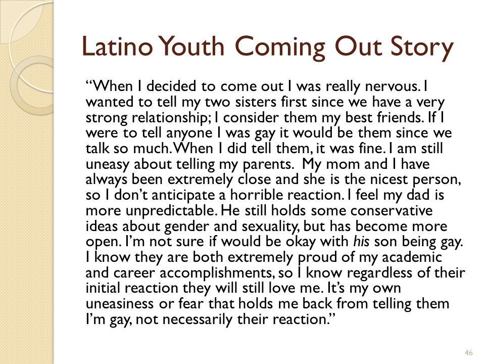 http://www.youtube.com/watch v=HLtHcbmvjAg Latina/o Family Story: Somos Familia
