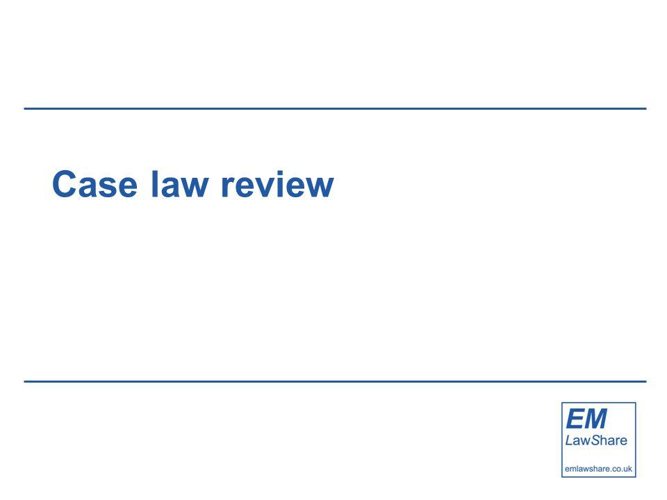 Case law review