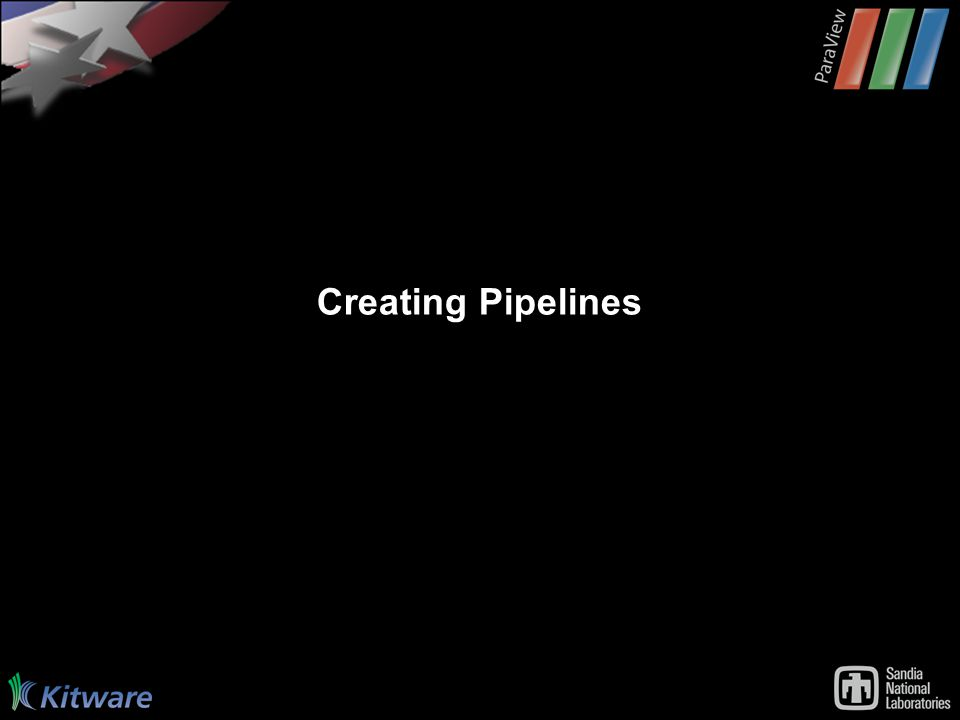 Creating Pipelines