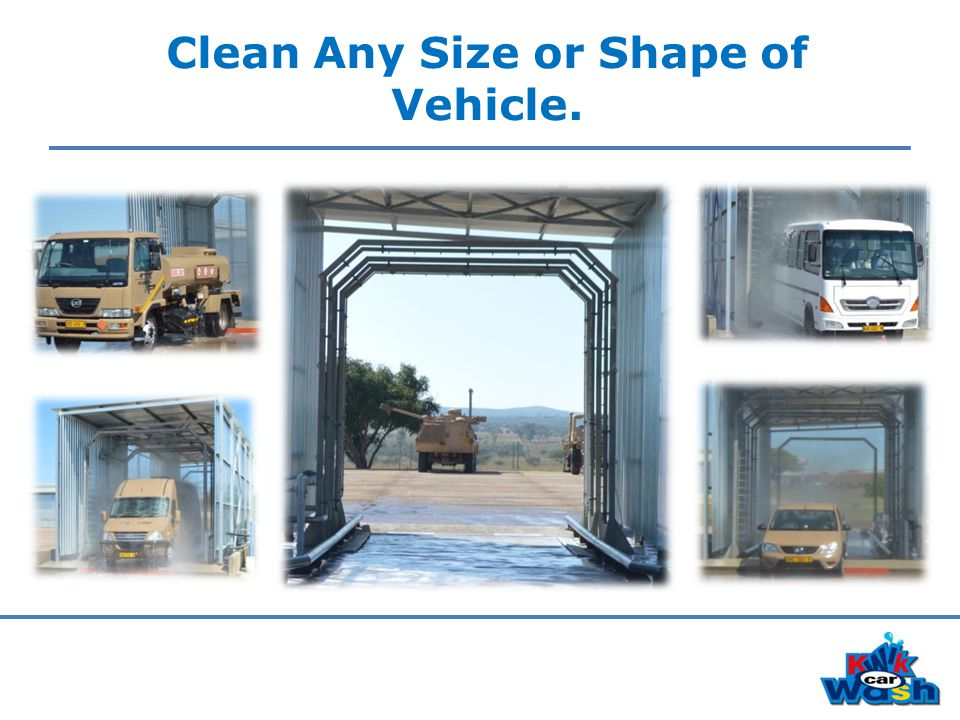 Clean Any Size or Shape of Vehicle.