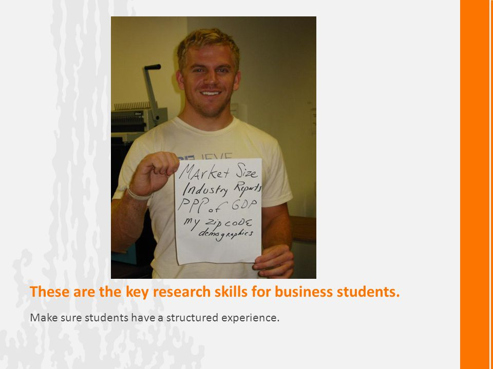 These are the key research skills for business students.