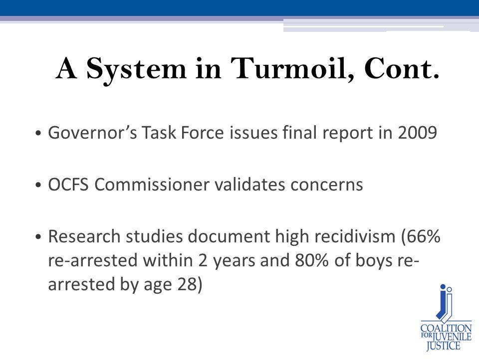 A System in Turmoil, Cont.