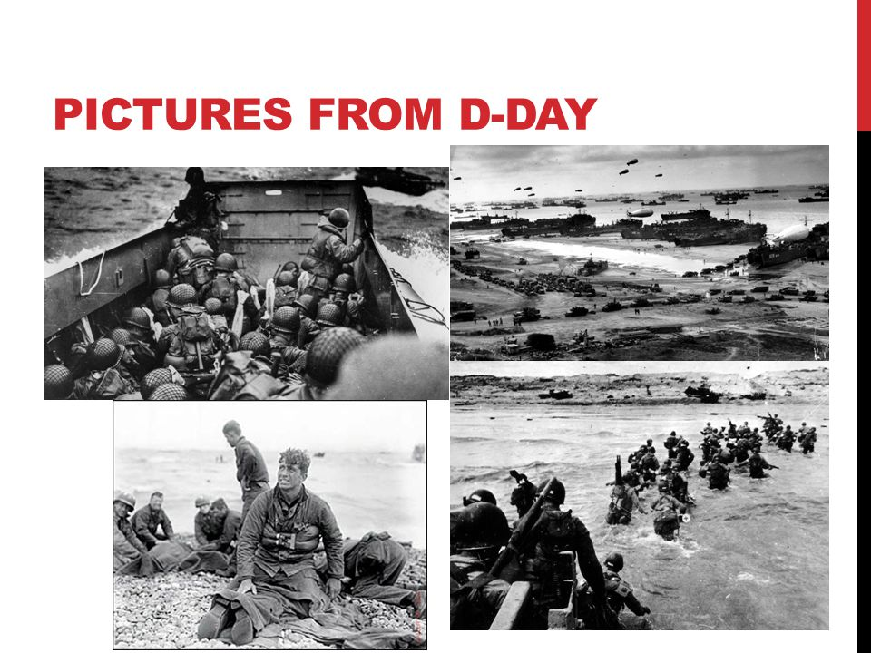 PICTURES FROM D-DAY