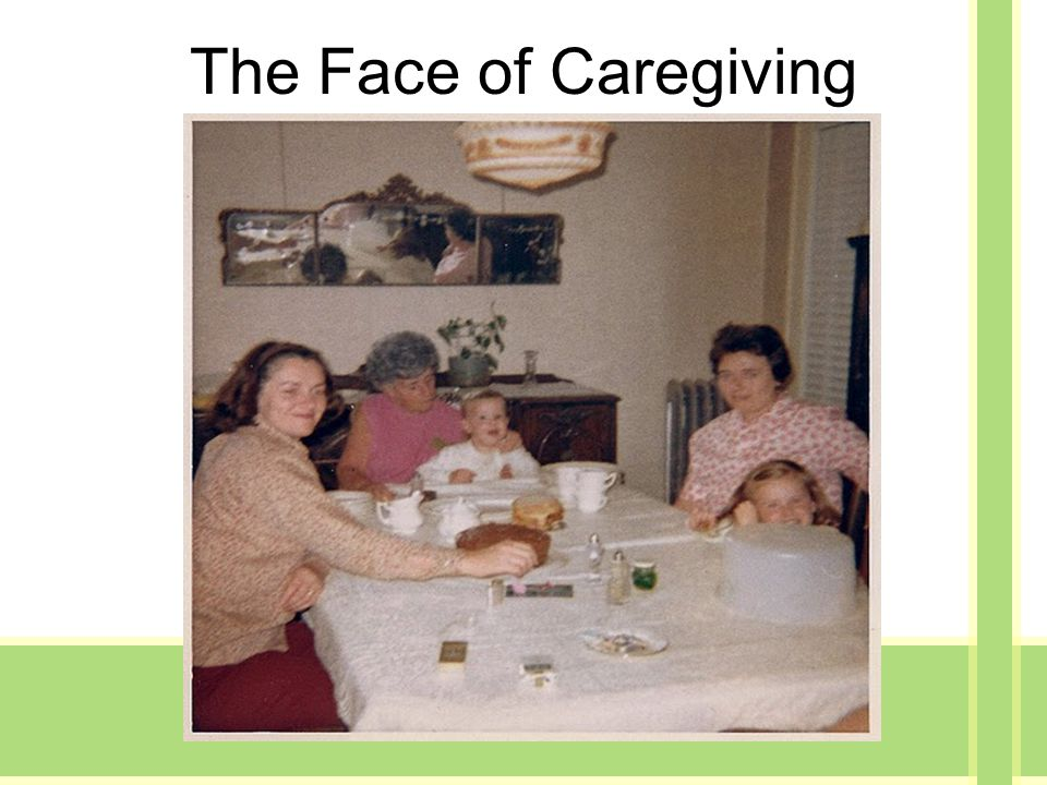 The Face of Caregiving