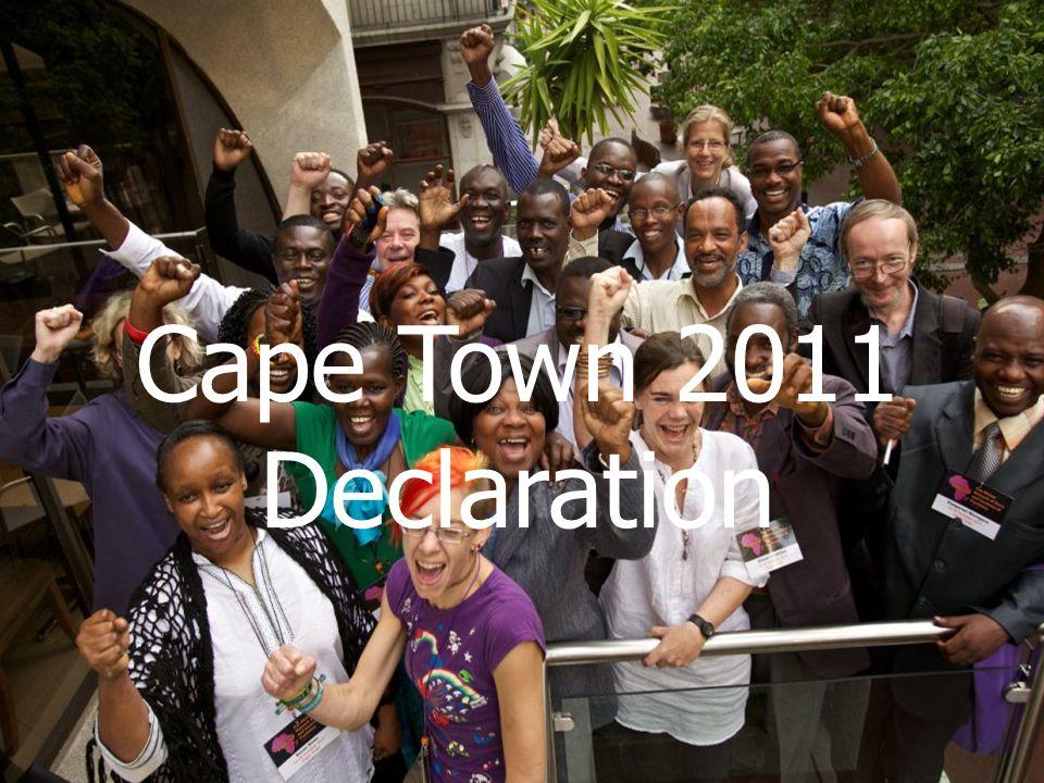 Cape Town 2011 Declaration