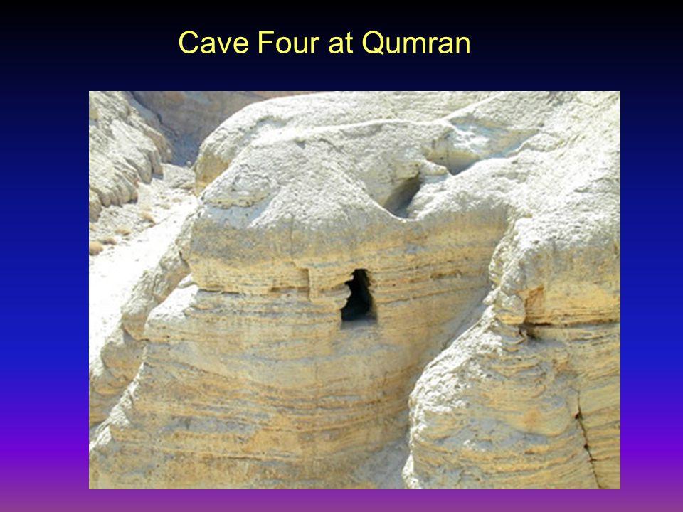 Cave Four at Qumran