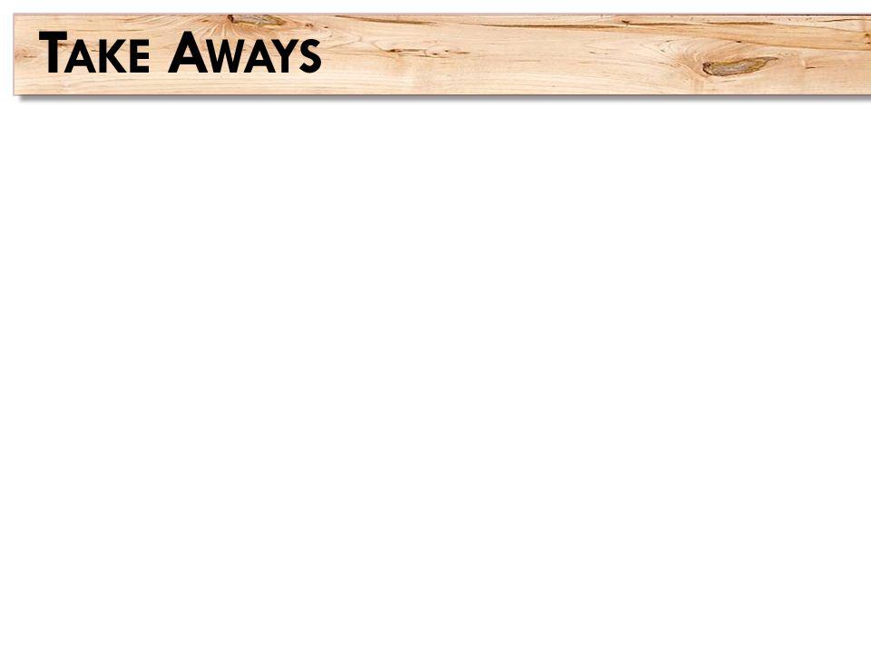 T AKE A WAYS