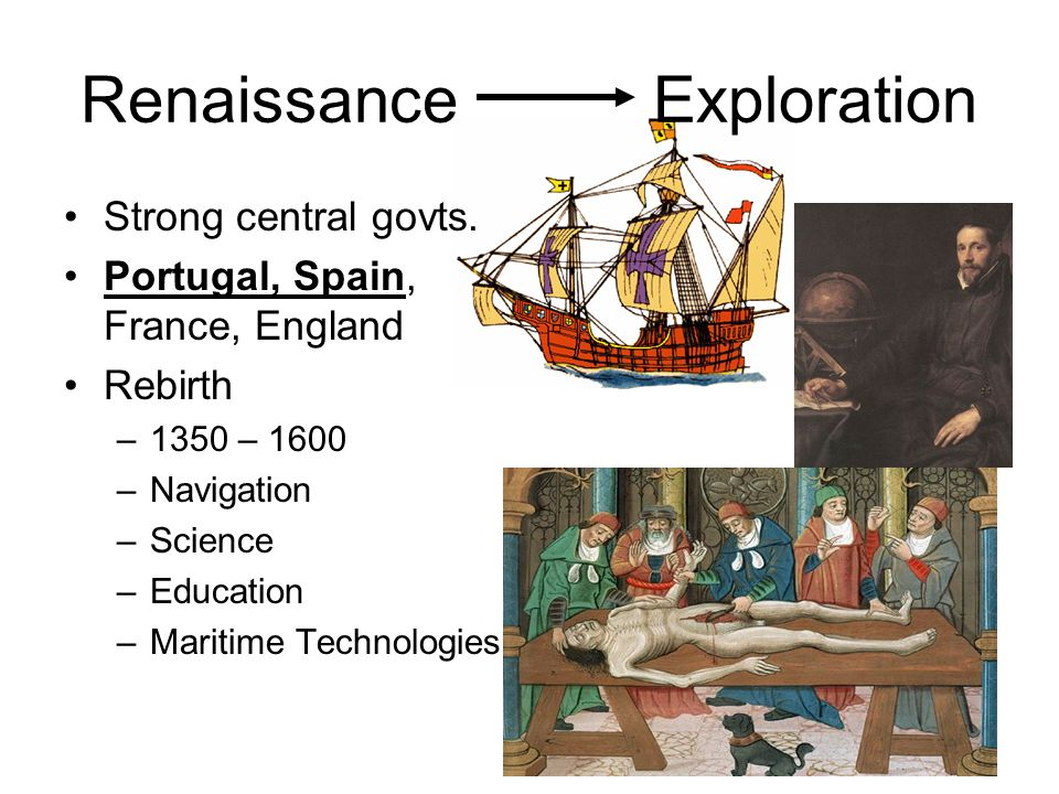 An intellectual revolution known as the Renaissance began in western Europe around A.D.