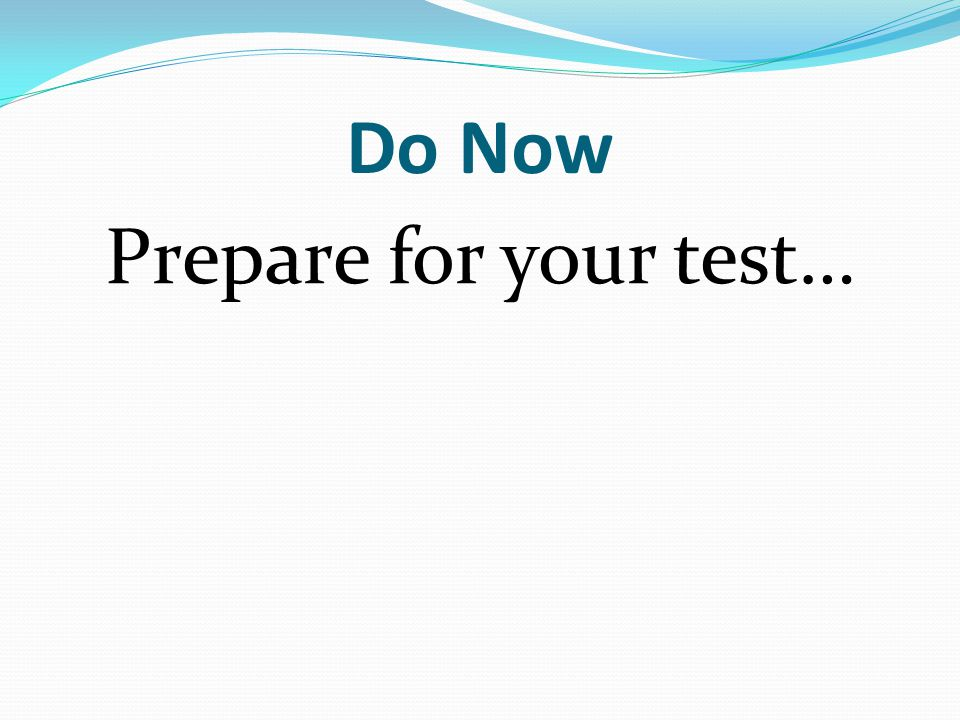 Information Finishing Europe - Test Today New MIRPL assignment - get it done early - due date selection Russia Unit - very brief overview of region
