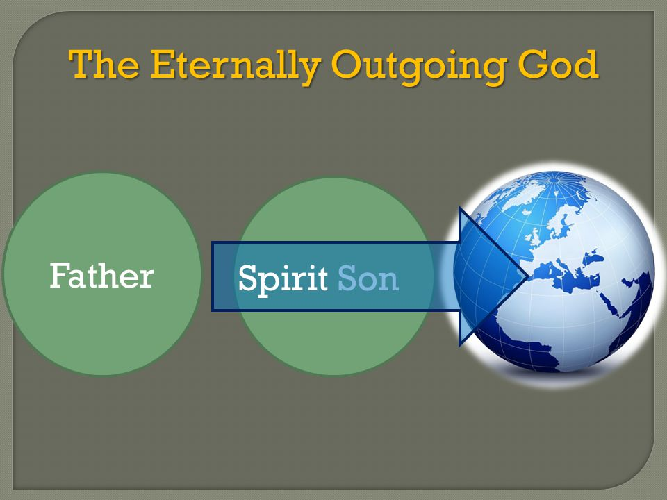 The Eternally Outgoing God Son Father Spirit
