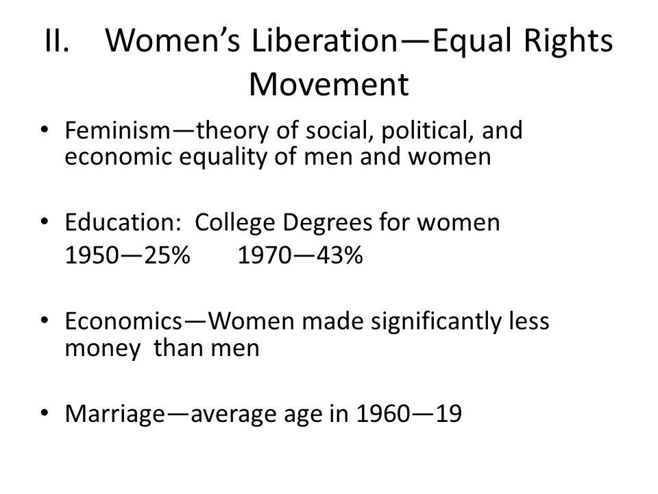 Landmarks in Women's Rights Betty Friedan's The Feminine Mystique—1963 Friedan was first President of National Organization of Women (NOW)—1966