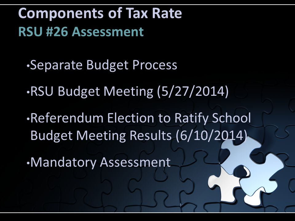 2015 Municipal Budget Special Revenue Fund Budget Summary Appropriations to Fund$ 563,820 Usage of Fund$1,033,305 Net Increase/(Decrease) ($469,485)