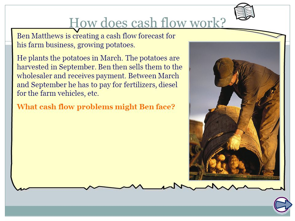 How does cash flow work.