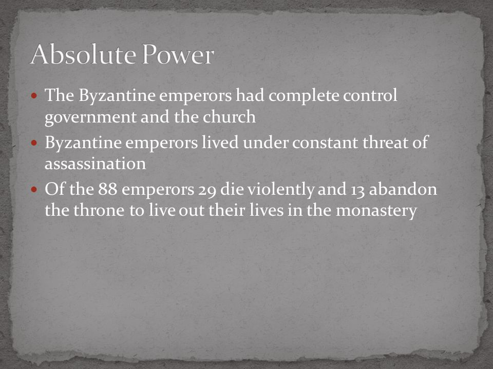 The Byzantine Empire became a much different place than the Western Empire Many still followed Roman tradition but few spoke Latin and most belonged to the Eastern Christian Church Justinian reviewed Rome's laws, he repealed some laws and added others The Justinian Code contained four parts 1.