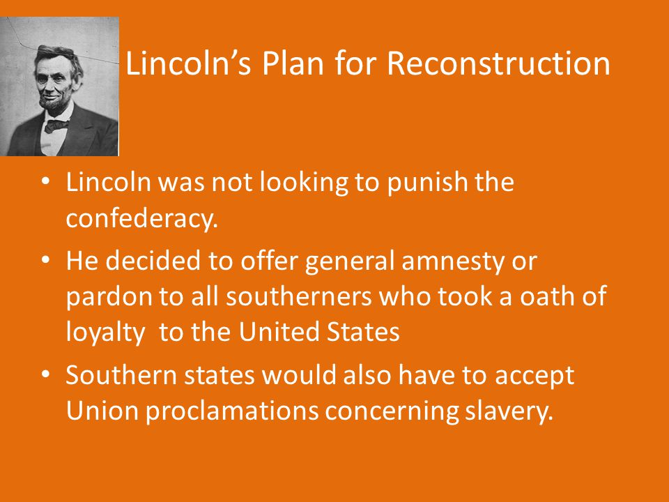 Radical Republican's Vision of Reconstruction.