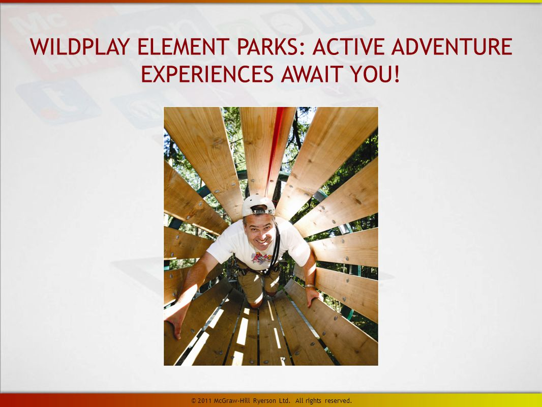 WILDPLAY ELEMENT PARKS: ACTIVE ADVENTURE EXPERIENCES AWAIT YOU.
