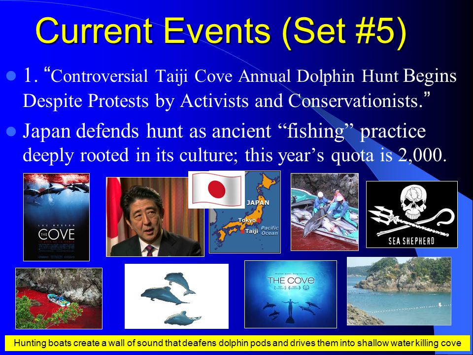 Current Events (Set #5) 1.