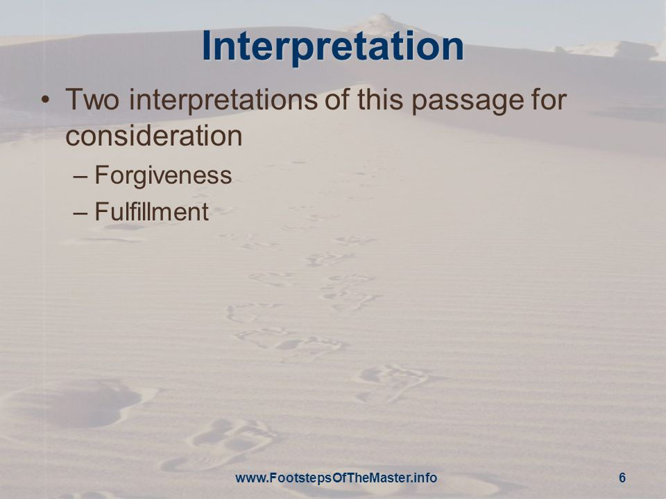 Forgiveness Jesus' mission was to reclaim mankind for the Father –He spent every minute of every day working to fulfill His purpose Even in humiliation and suffering, Jesus continues his salvific mission –Forgiving the misdeeds of those who treat Him contemptuously –Does ignorance qualify as a defense.