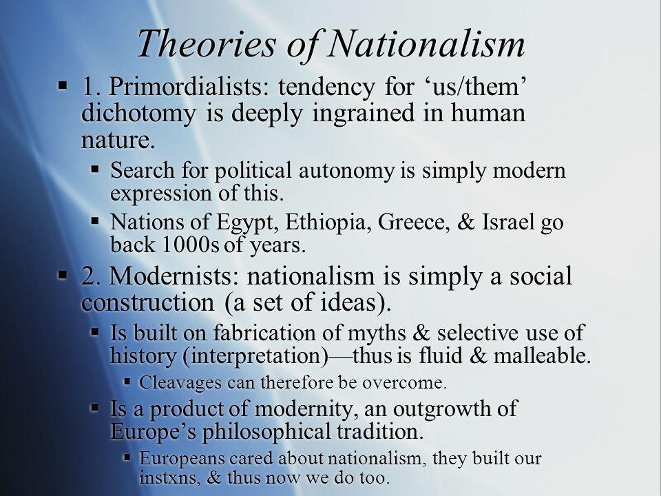 Nationalism & Globalization  Does globalization stimulate or marginalize nationalism.