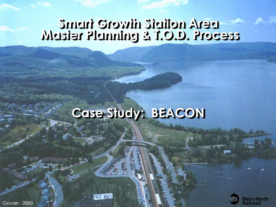 Smart Growth Station Area Master Planning & T.O.D. Process Case Study: BEACON Govan - 2000