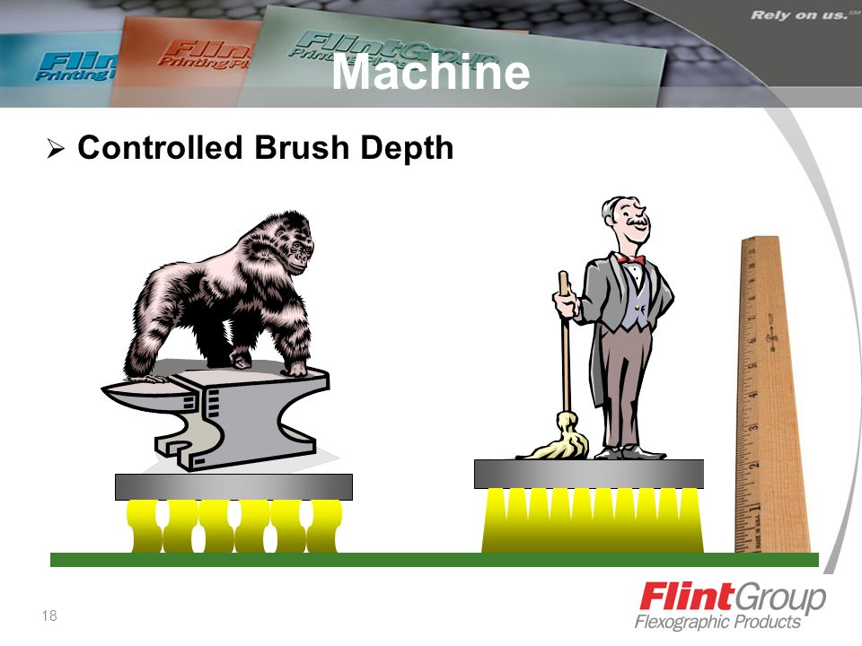 18 Machine  Controlled Brush Depth
